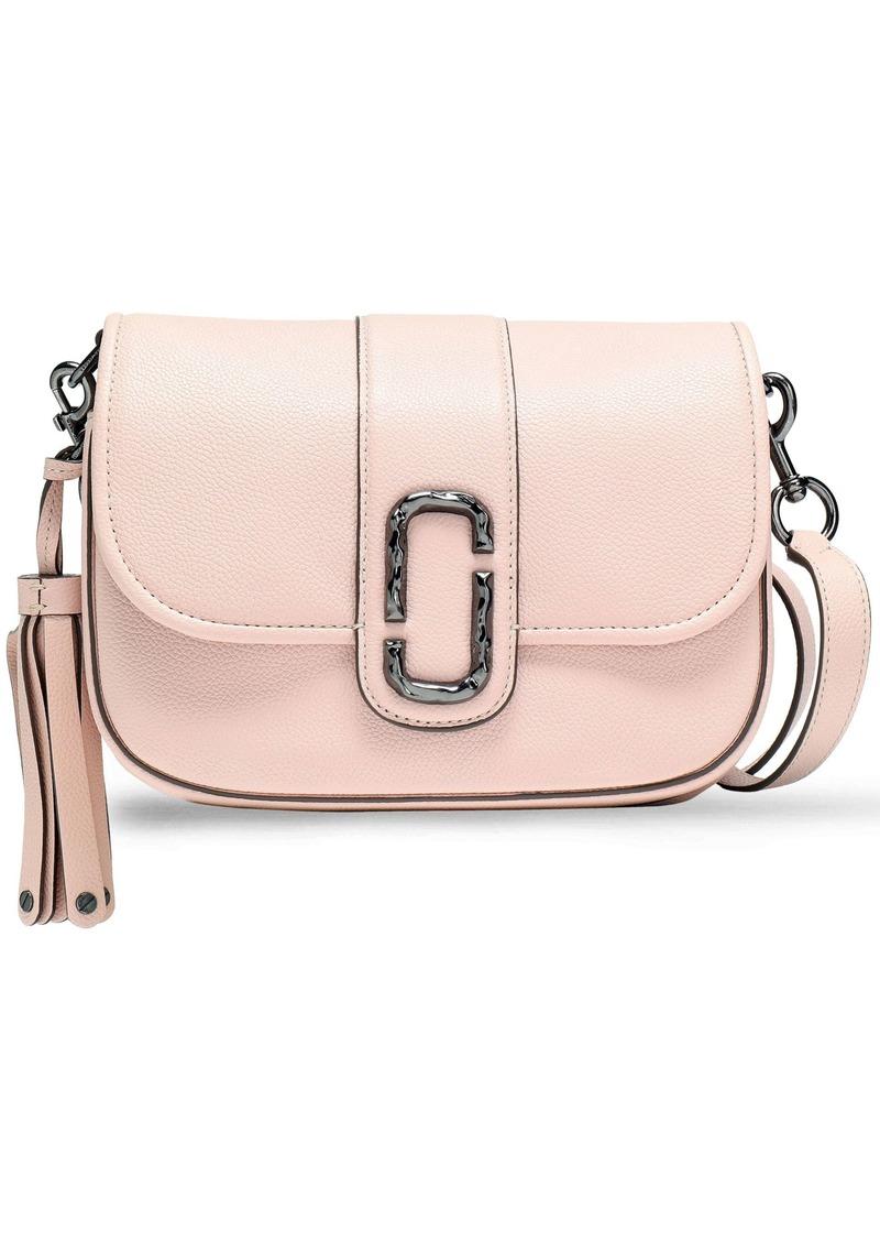 Marc Jacobs Woman Tasseled Leather Shoulder Bag Pastel Pink