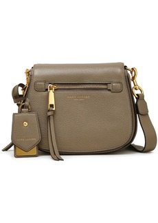 Marc Jacobs Woman Textured-leather Shoulder Bag Stone