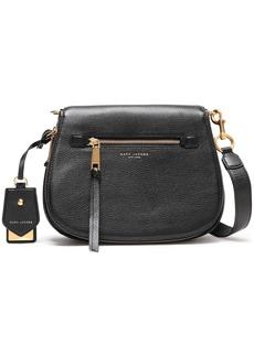 Marc Jacobs Woman Textured-leather Shoulder Bag Black