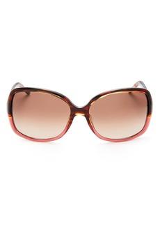 MARC JACOBS Women's Color Block Square Sunglasses, 58mm