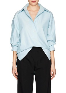 Marc Jacobs Women's Cotton Oxford Cloth Oversized Blouse