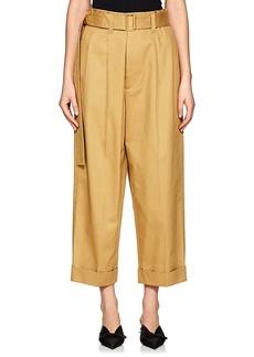 Marc Jacobs Women's Cotton Wide-Leg Trousers