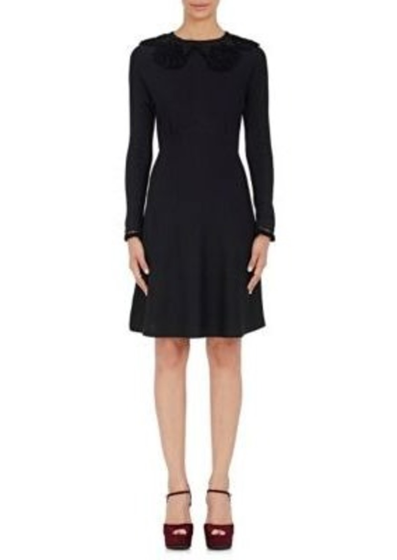 Marc Jacobs Women's Crocheted-Collar Dress