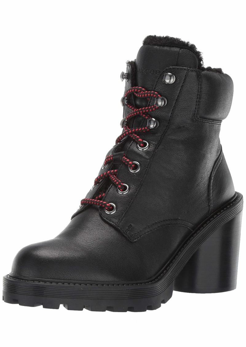Marc Jacobs Women's Crosby Hiking Boot with Faux Shearling Lining Ankle  3 M EU ( US)