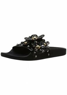 Marc Jacobs Women's Daisy Studded Aqua Slide Sandal  3 M EU ( US)