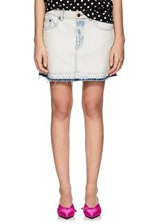 Marc Jacobs Women's Denim Miniskirt