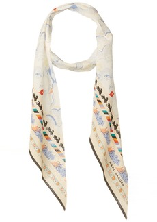 Marc Jacobs Women's Doing Dishes Silk Scarf