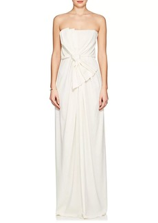 Marc Jacobs Women's Draped Jersey Strapless Gown