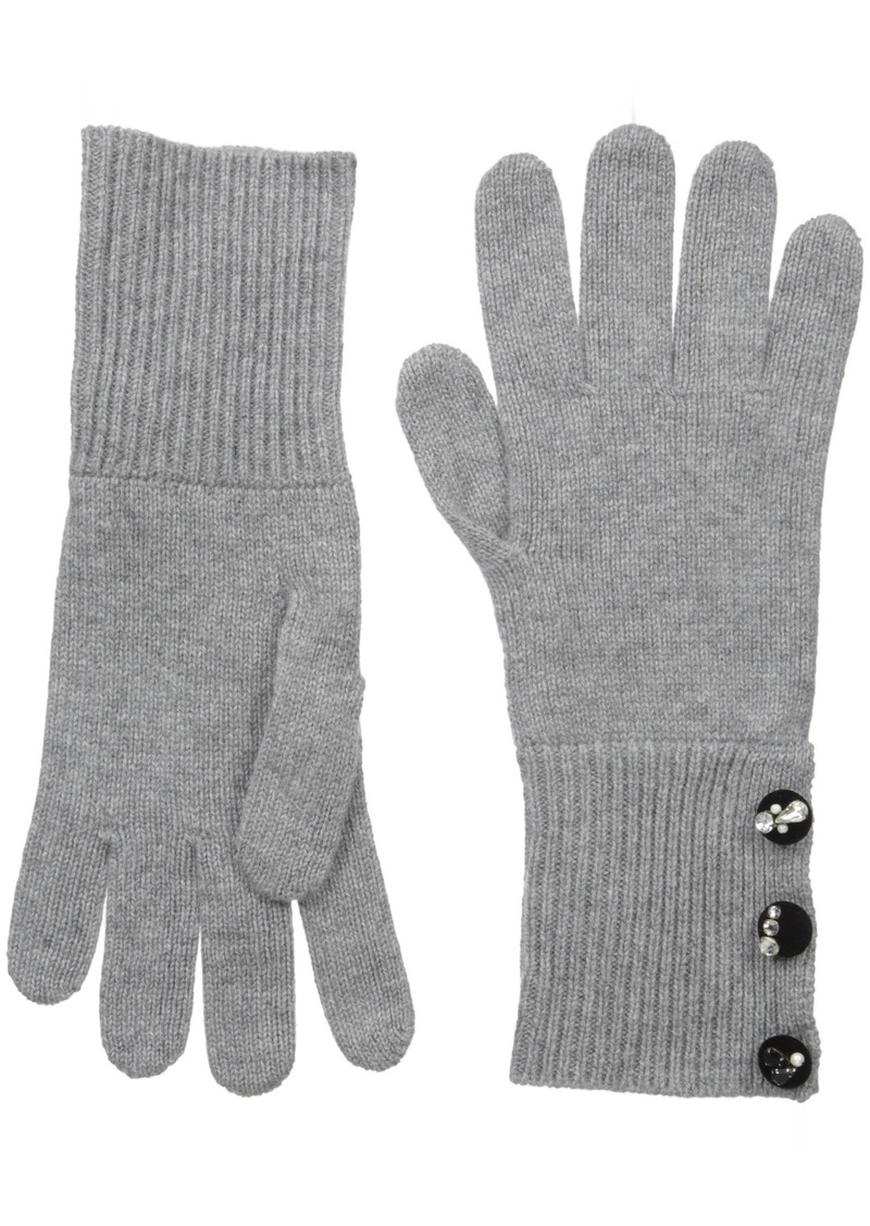 Marc Jacobs Women's Embellished Cashmere Cold Weather Gloves