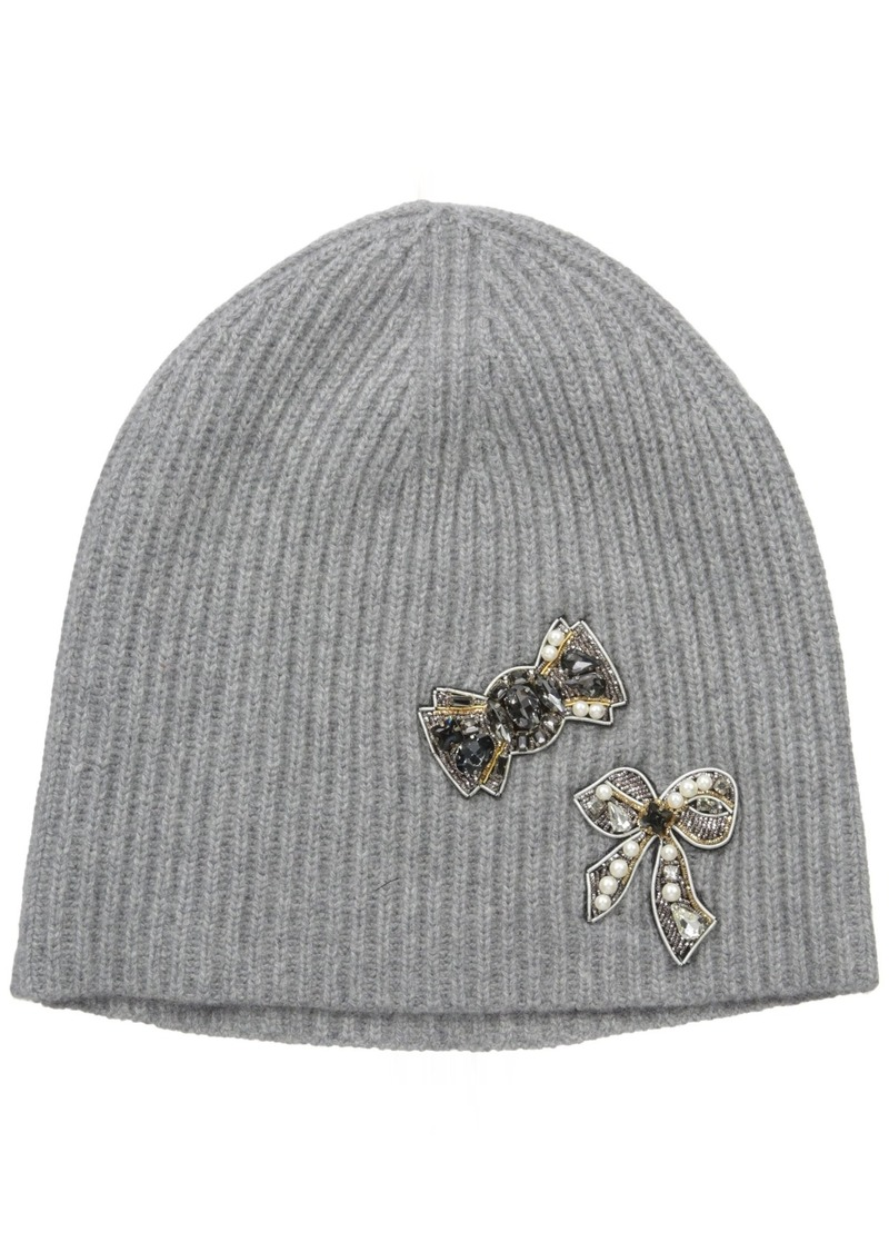 Marc Jacobs Women's Embellished Cashmere Cold Weather Hat in