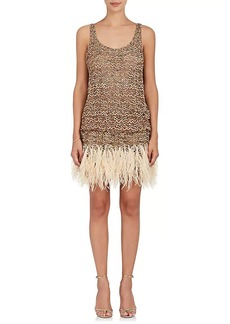 Marc Jacobs Women's Embellished Tulle Cocktail Minidress
