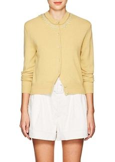 Marc Jacobs Women's Embellished Wool-Cashmere Cardigan