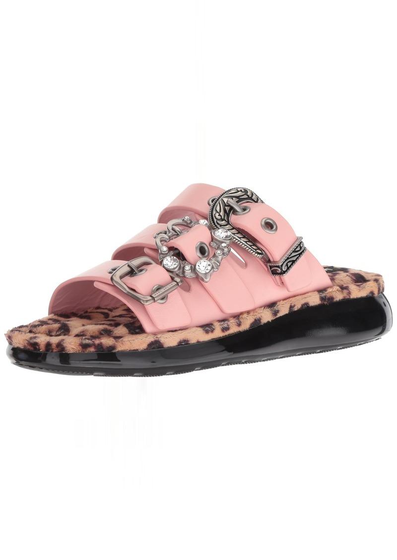 Marc Jacobs Women's Emerson Buckle Sport Sandal Flat  40 M EU ( US)