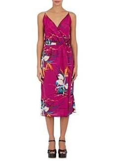 Marc Jacobs Women's Floral Midi-Dress