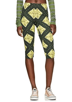 Marc Jacobs Women's Ikat-Inspired Stretch-Jersey Leggings