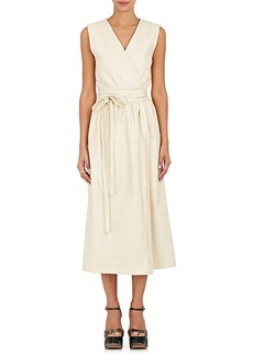 Marc Jacobs Women's Leather Wrap Dress