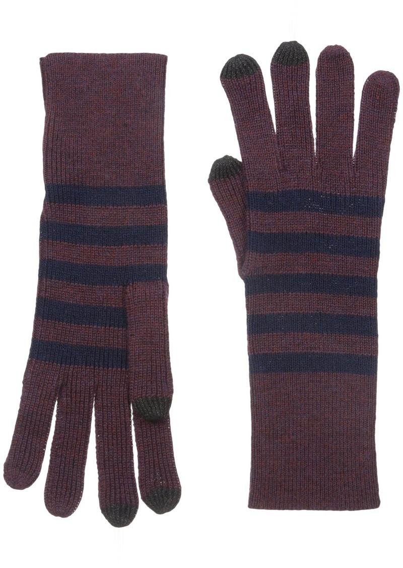 Marc Jacobs Women's Logo Stripe Cold Weather Gloves Multi