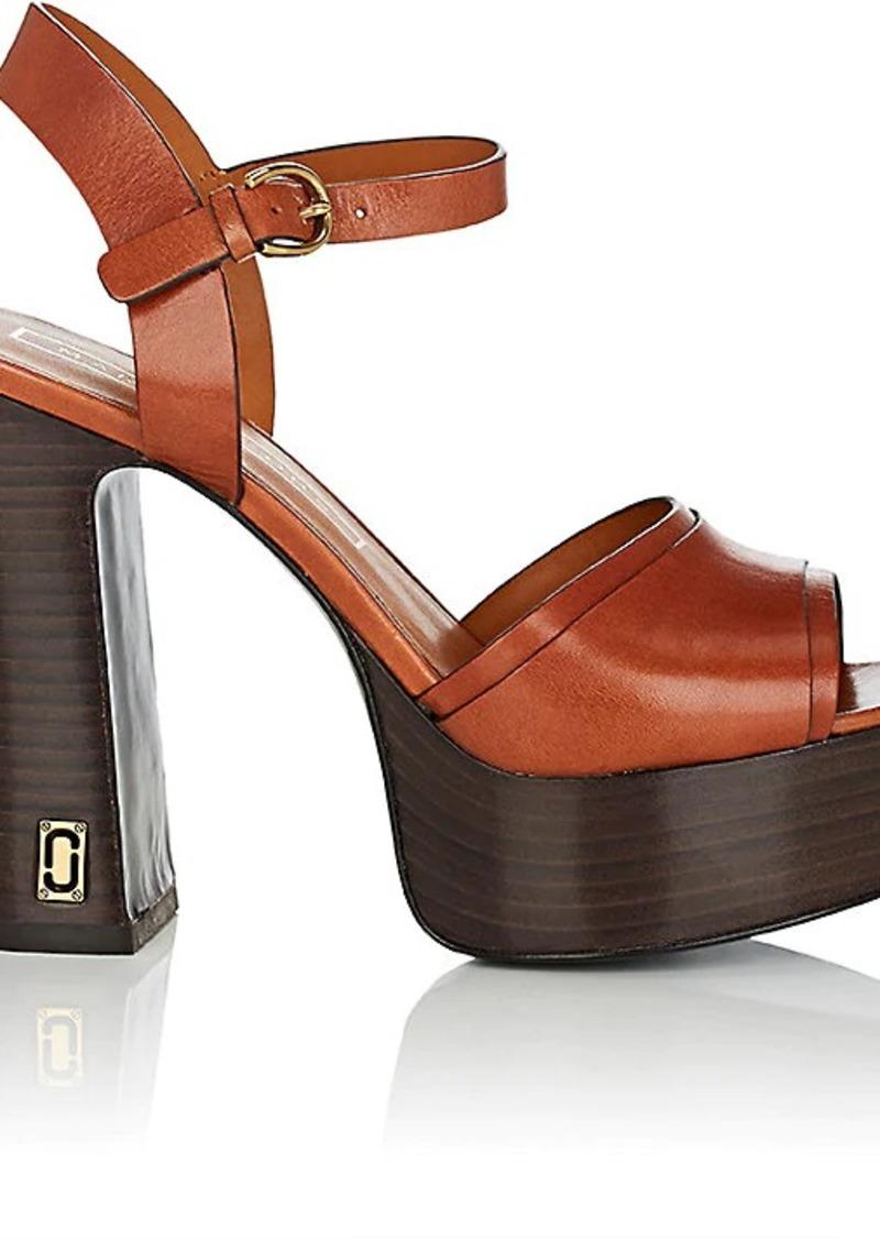c06d605f19b Marc Jacobs Marc Jacobs Women s Lust Status Leather Platform Sandals ...