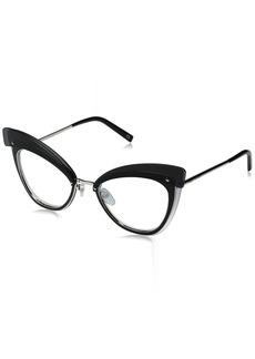 Marc Jacobs Women's Marc100s Cateye Sunglasses Palladium/Gray SF Silver SP 64 mm