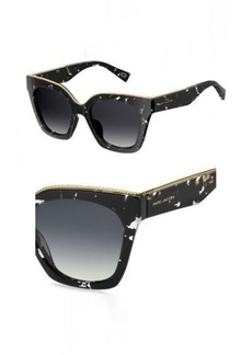 DARK HAVANA//BROWN GRADIENT Marc Jacobs Women/'s Marc162s Square Sunglasses 52 m