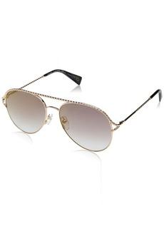 Marc Jacobs Women's MARC168/S Aviator Sunglasses ANTGD GRE