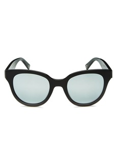 MARC JACOBS Women's Mirrored Round Sunglasses, 50mm