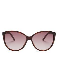 MARC JACOBS Women's Oversized Cat Eye Sunglasses, 58mm