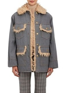 Marc Jacobs Women's Oversized Cotton Denim Jacket