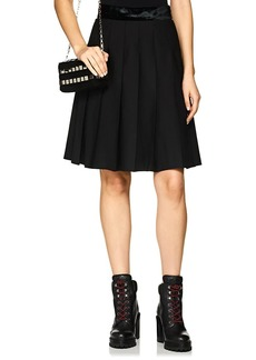 Marc Jacobs Women's Pleated Wool Skirt