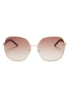 MARC JACOBS Women's Polarized Oversized Square Sunglasses, 61mm