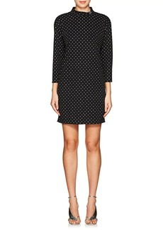 Marc Jacobs Women's Polka Dot Jersey Minidress