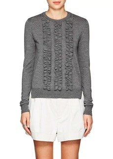 Marc Jacobs Women's Ruffled-Front Wool Sweater