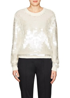 Marc Jacobs Women's Sequin-Embellished Wool Sweater