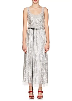 Marc Jacobs Scoop-Neck Sleeveless Mirrored-Sequins Belted Cocktail ... a697fdb77