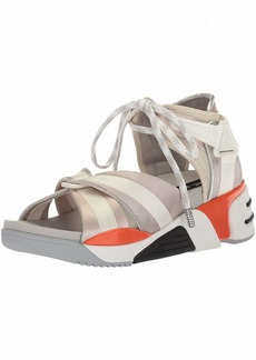 Marc Jacobs Women's Somewhere Sport Sandal White/Multi 3 M EU ( US)
