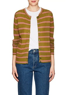 Marc Jacobs Women's Striped Cashmere Cardigan