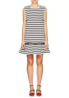 Marc Jacobs Women's Striped Cotton Sleeveless Shift Dress
