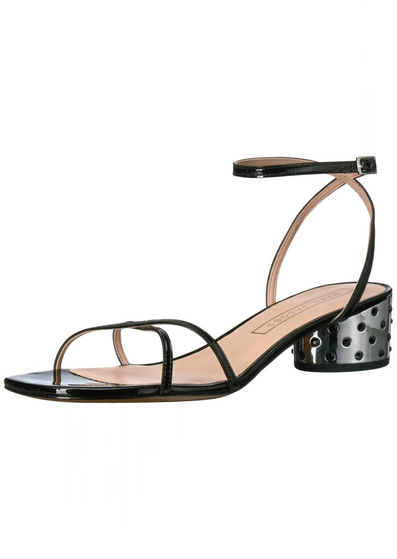 Marc Jacobs Women's Sybil Ankle Strap Sandal Heeled  39 M EU (9 US)