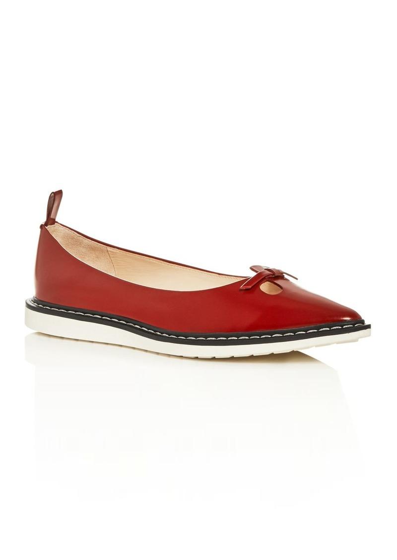 MARC JACOBS Women's The Mouse Shoe Demi-Wedge Flats