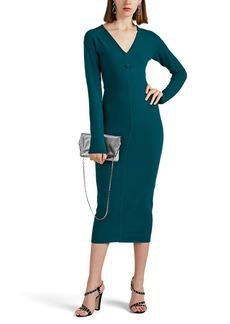Marc Jacobs Women's V-Neck Wool-Blend Sweaterdress