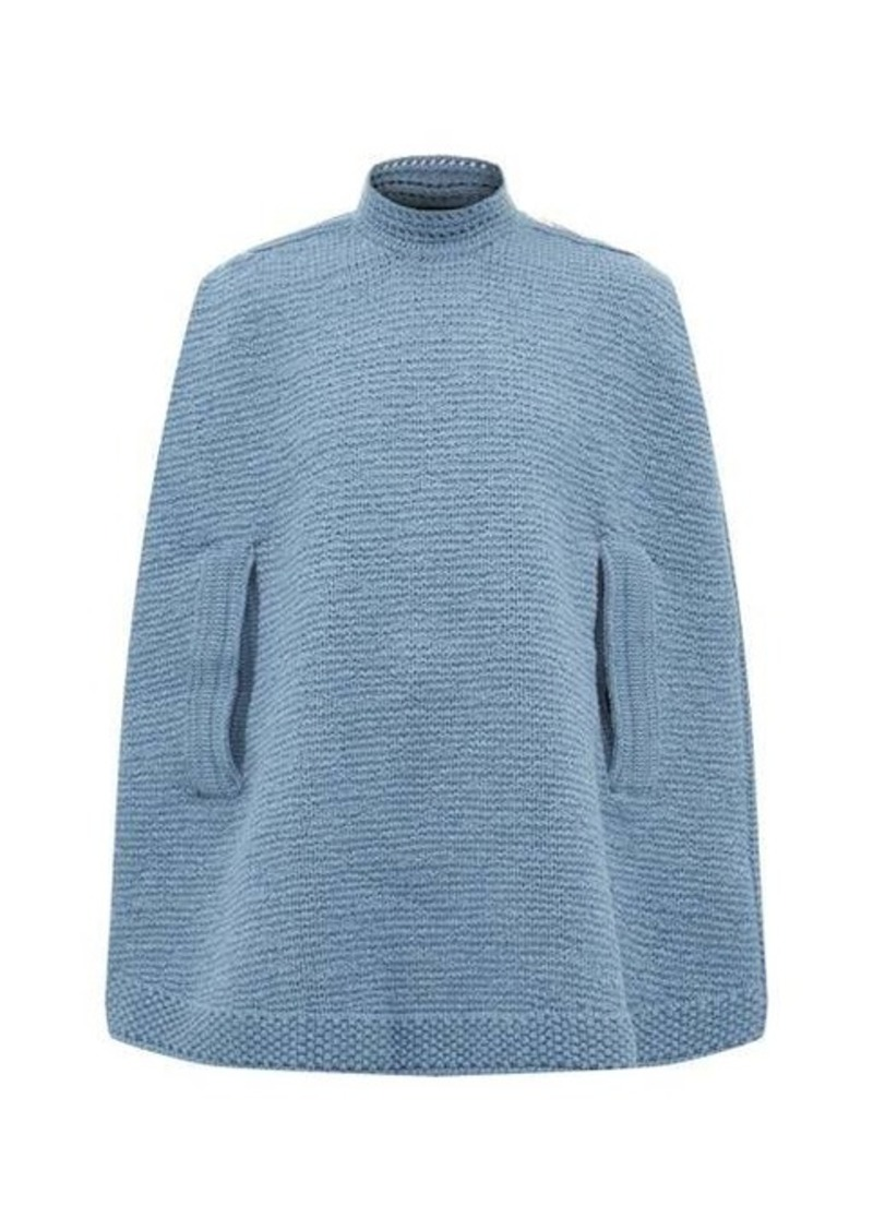 Marc Jacobs Wool and cashmere knitted cape