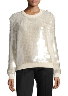 Marc Jacobs Wool Sequin Sweater