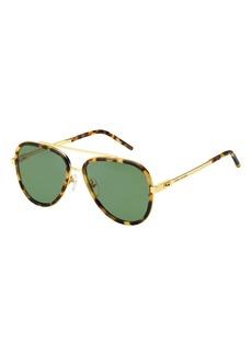 a76720cefa0e Marc Jacobs Metal & Plastic Aviator Sunglasses