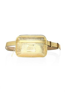 Marc Jacobs Metallic Leather Sport Belt Bag