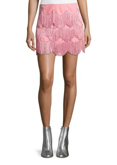 Marc Jacobs Mini Skirt with Fringe