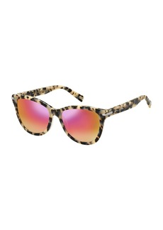 Marc Jacobs Mirrored Iridescent Cat-Eye Sunglasses