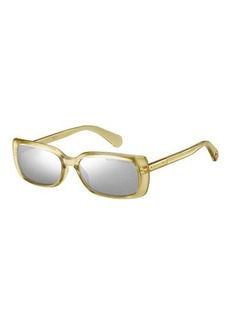 Marc Jacobs Mirrored Rectangle Sunglasses