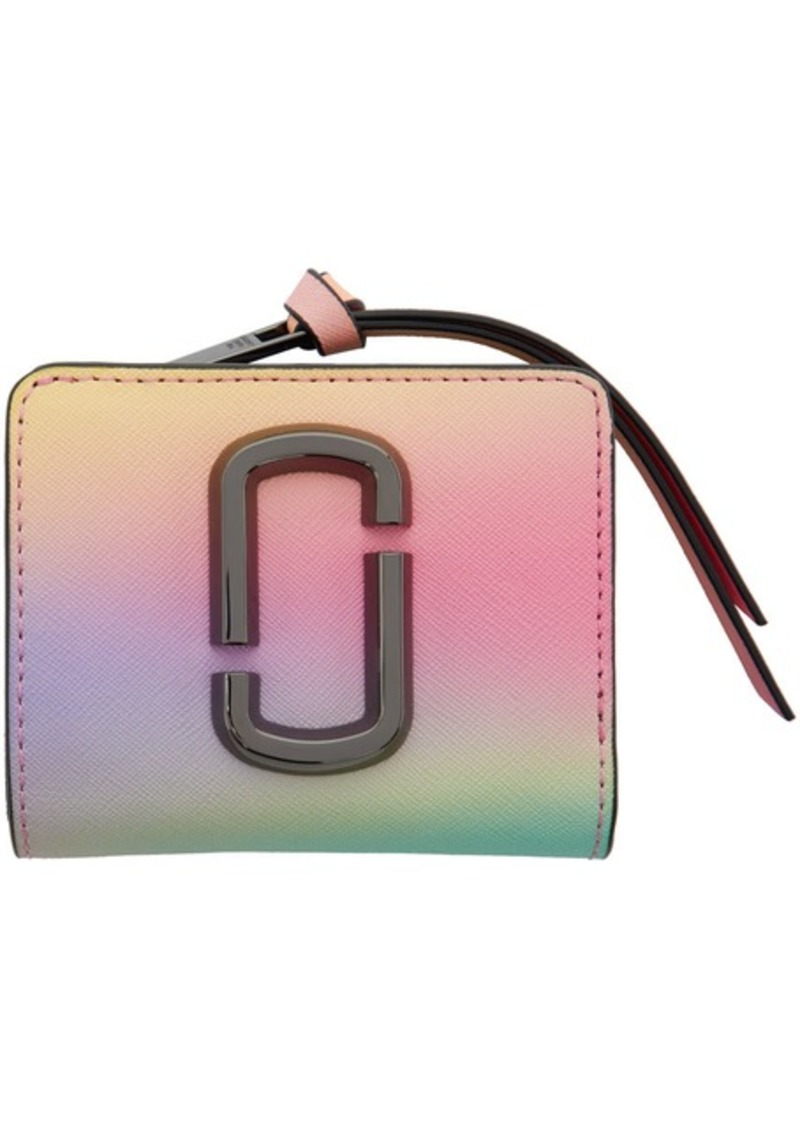Marc Jacobs Multicolor Mini Snapshot Compact Wallet