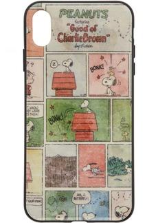 Marc Jacobs Multicolor Peanuts Edition Comic Strip iPhone XS Max Case