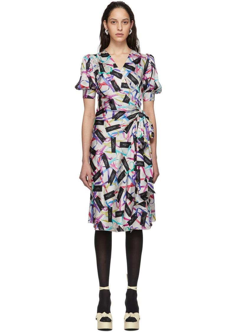 Marc Jacobs Multicolor 'The Wrap' Dress